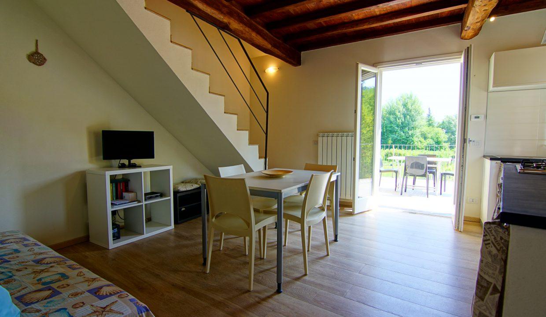 Appartamento piano rialzato palazzina gialla con terrazzo (11)